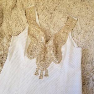 Lilly Pulitzer Largo shift dress Resort White 4